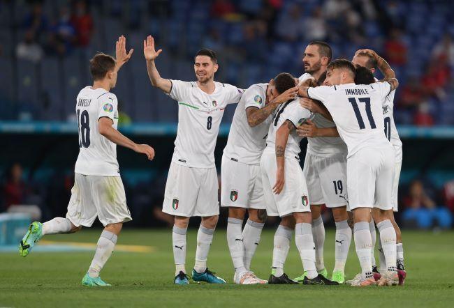 Skuat Italia memiliki kelengkapan dalam harmonisasi. Foto Reuters