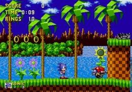 Karakter Sonic dalam permainan konsol SEGA. Sumber gambar:wikimedia.org