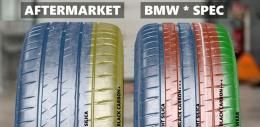 Perbandingan komposisi Compound pada Michelin Pilot Sport 4 S OE dan aftermarket, twitter.com/tyre_reviews