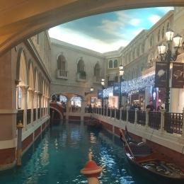 Gondola ride di The Venetian Macau, dokumentasi pribadi