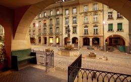 Sebuah air mancur lainnya di Bern. Sumber: www.bern.com