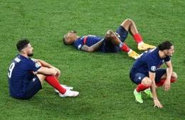 Prancis tersingkir di babak 16 besar Euro 2020. Sumber: via Detik.com