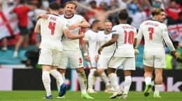 Skuad Inggris Saat ini Menjanjikan tapi apakah dewi Fortuna memihak untuk menjadi pemenang Piala Eropa pertama kali? (Tribunnews.com)
