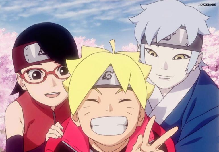 Alasan Uzumaki Boruto Tidak Menikahi Uciha Sarada. Sumber Gambar : TV Tokyo/ Boruto : Naruto Next Generation