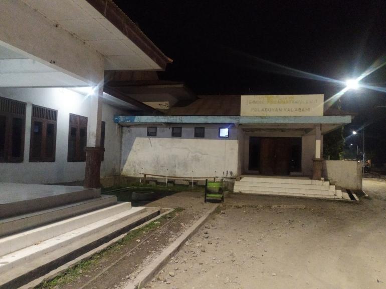 Terminal penumpang kapal laut pelabuhan kalabahi Alor (Dokpri)