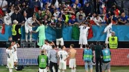 Laga semifinal antara Italia vs Spanyol di Stadion Wembley, diperkirakan akan sepi penonton (Foto: Getty Images/Stuart Franklin)