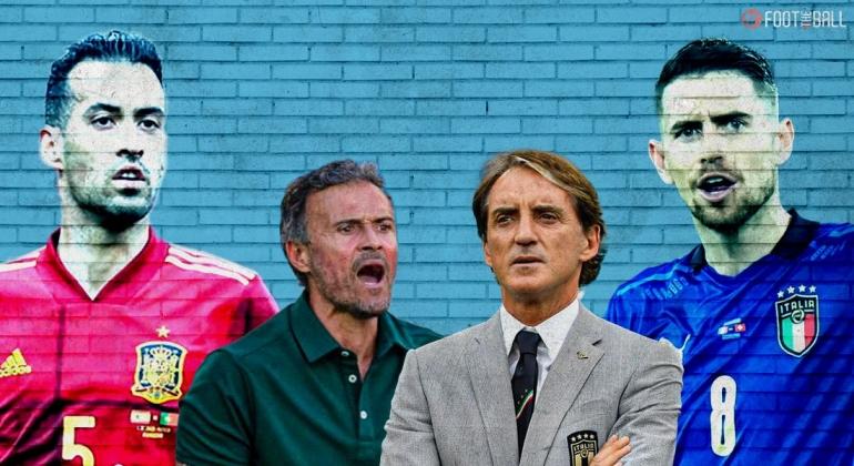 Feature: Busquets-Enrique-Mancini-Jorginho. Sumber: foottheball.com