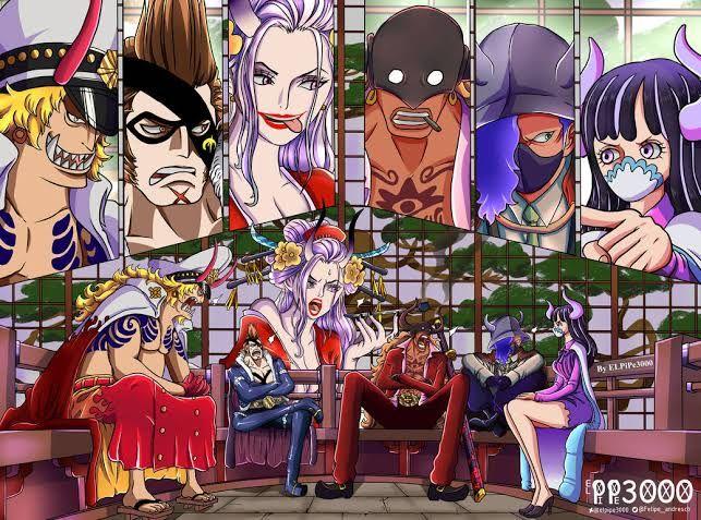 Anggota Tobiroppo, pasukan elit Beast Pirates di anime One Piece episode 982
