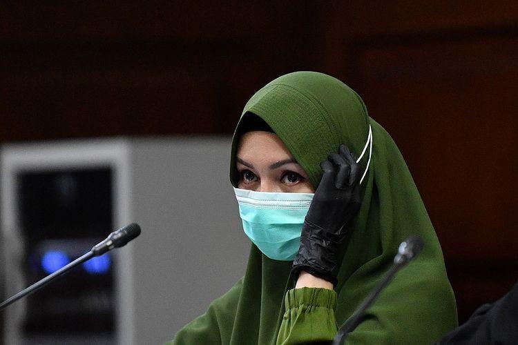 Terpidana kasus suap Pinangki Sirna Malasari. Foto: kompas.com