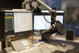 Ilustrasi studio siaran radio. Sumber: Thinkstockphotos via Kompas.com