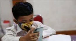 Ilustrasi tentang berjuang hidup di tengah pandemi dan perjuangan anak untuk tetap belajar | Dokumen diambil dari: news.detik.com