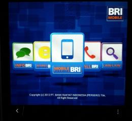 Tangkapan layar aplikasi BRI Mobile   Dok.Pri. Siska Artati