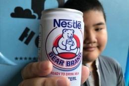 Susu beruang. Foto oleh Tribunnews.com/Hendra Gunawan
