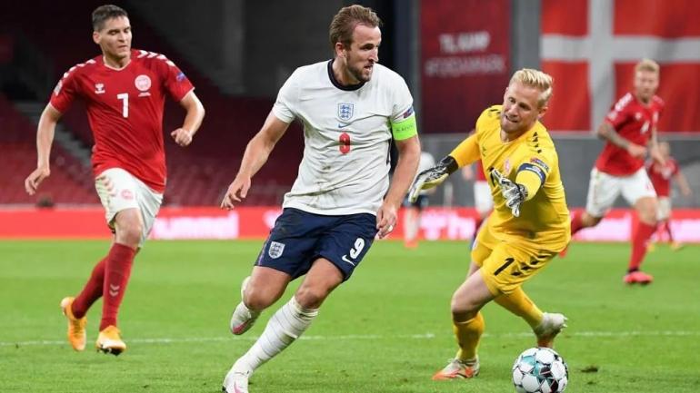 Laga Inggris vs Denmark tahun 2020 yang berakhir dengan kedudukan 0-0 (uefa.com).