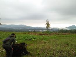 Panorama alam pegunungan di Kacinambun Highland-Siosar (Dokumentasi Pribadi)