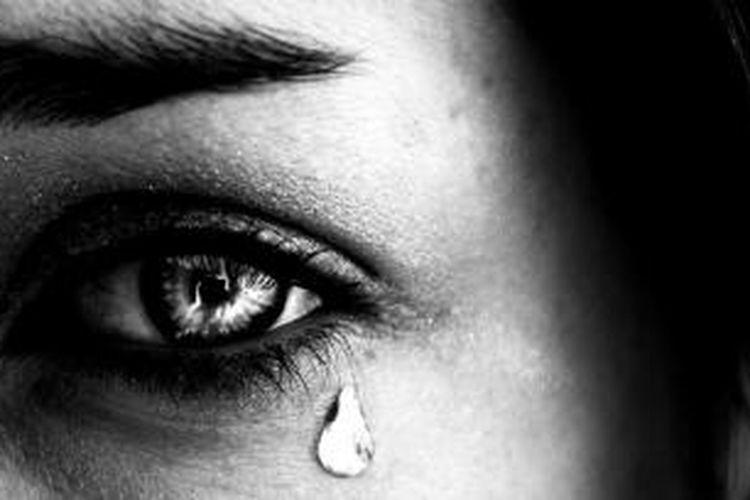 Ilustrasi air mata  Sumber: smartmeetings.com via Kompas.com
