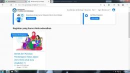 dokumentasi pribadi : tangkap layar laman gurubelajardanberbagi.kemdikbud.go.id