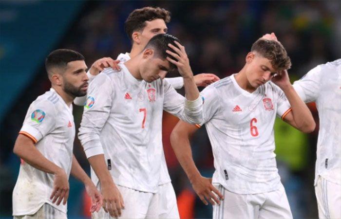 Spanyol tersingkir di semifinal Euro 2020. foto uefa.com