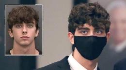 Pelaku insiden balap liar, Cameron Coyle Herrin, yang menewaskan ibu dan anak.   Tribunnews.com