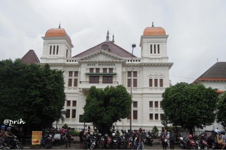 Cagar Budaya Bank Indonesia Yogyakarta (Dokumen Pribadi)