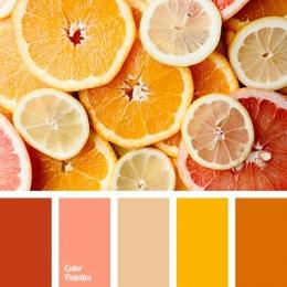 Ilustrasi warna hangat (colorpalettes.net)