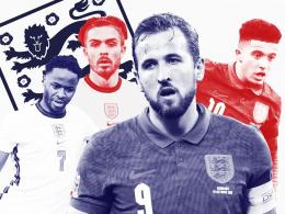 English Knights di Euro 2020. Sumber: Getty images / www.theindependent.co.uk