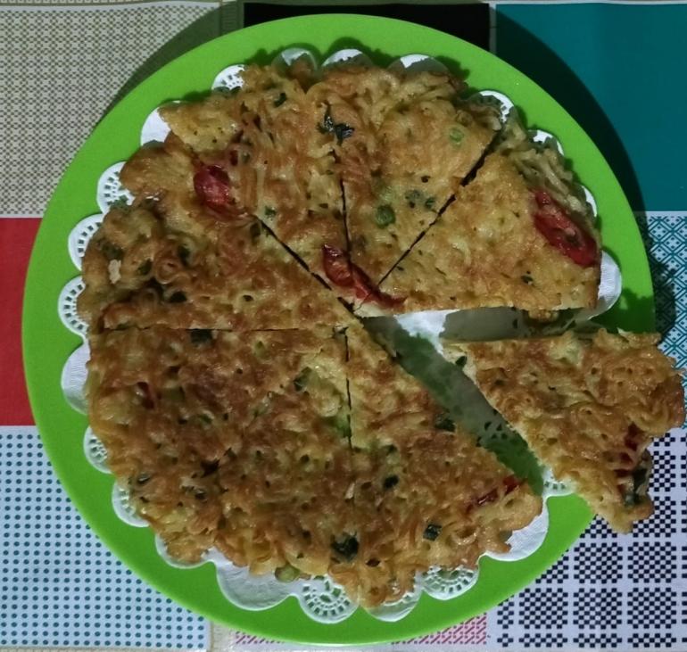 Omelet Mi Telur| Foto: Siti Nazarotin
