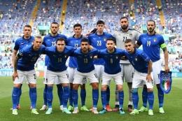 Skuad Italia. Sumber: Valerio Pennicino /uefa / Kompas