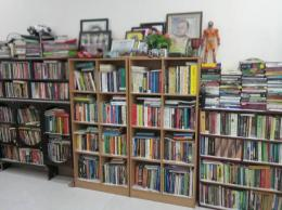Dokumentasi sebagian ruang Perpustakaan Pribadi Jumardi Putra (Dokpri)