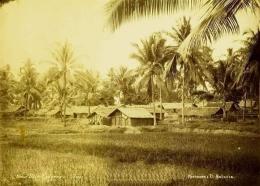 Kampung Kedung yang dibakar Kolonial. KITVL