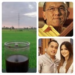Sumber foto kiri dokpri: foto kanan atas civitasbook.com; foto kanan bawah instagram_ramadhanibakrie