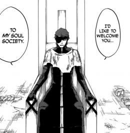 Aizen yang bagai Orochimaru di Naruto, tak mau ikut rencana orang lain padahal bertujuan sama. (Tite Kubo/Shonen Jump)