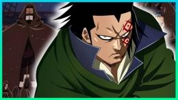 Monkey D. Dragon dalam novel One Piece chapter 3 karya Artur, otakuani.com