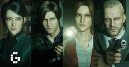 Keempat tokoh dalam film ini (sumber: gamerbraves.com/Netflix)
