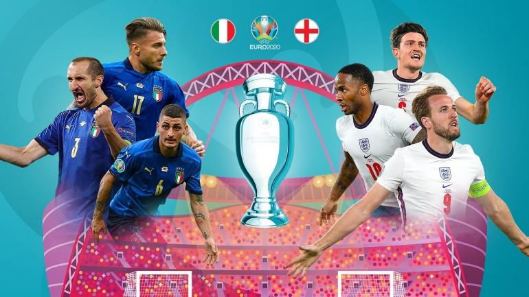 Italia vs Inggris di Final Euro 2020. Sumber: www.uefa.com