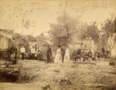 Situasi Cilegon Saat Penyerbuan Pasukan Ki Wasid 1888 : Foto KITVL