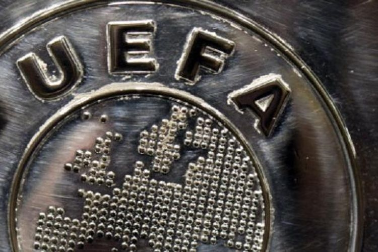 Logo UEFA.(Dok. UEFA via kompas.com)