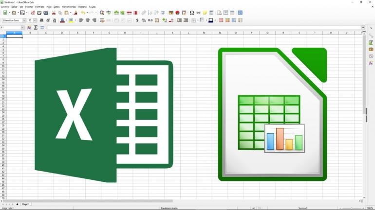 Excel vs LibreOffice Calc (Sumber: https://www.genbeta.com)