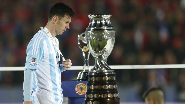 Messi usai final Copa America 2015. (dok: Diario AS)