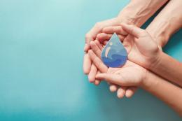 Ilustrasi cuci tangan, Hari Cuci Tangan Sedunia(Shutterstock/SewCream via kompas.com)