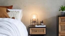 Lampu penerangan saat tidur (sumber:realhomes.com)