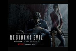 Poster film Resident Evil: Infinite Darkness