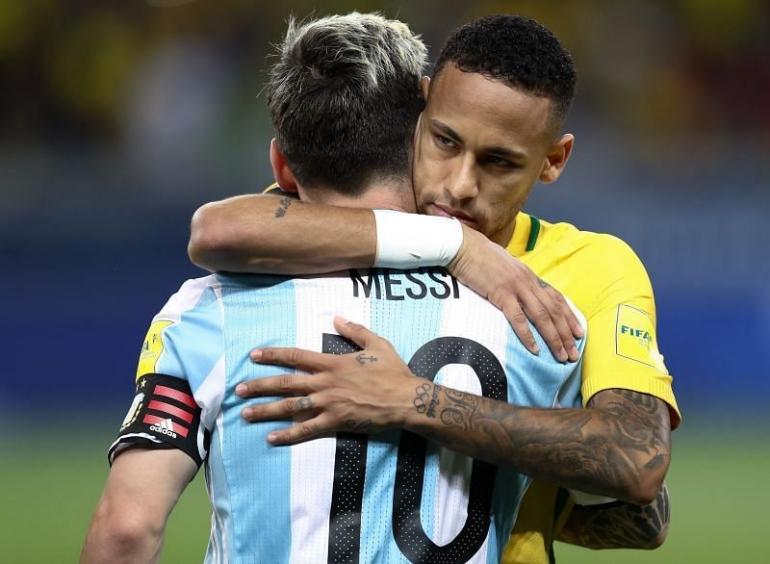 Lionel Messi dan Neymar I Gambar : Sportskeeda