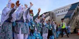 Jamaah Haji Indonesia (Sumber Gambar: Sekretariat Kabinet Republik Indonesia)