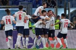 Timnas Inggris Euro 2020. Sumber: Kompas