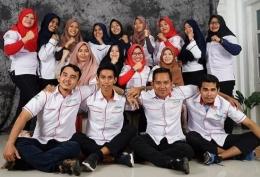 Foto : NS tim bacth 9 dan NSI periode 7 kab. Halmahera Tengah, Maluku Utara (dokpri).