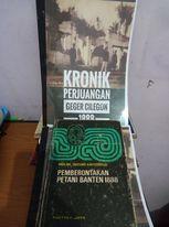 Buku Pemberotakan Petani Banten 1888, Prof.Dr. Sartono Kartodirdjo. dok. Pribadi