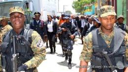 Gambar ilustrasi pasukan pengawal presiden Haiti, USGPN. Sumber :BelPolitic.com