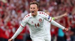 Mikkel Damsgaard. (via Reuters)