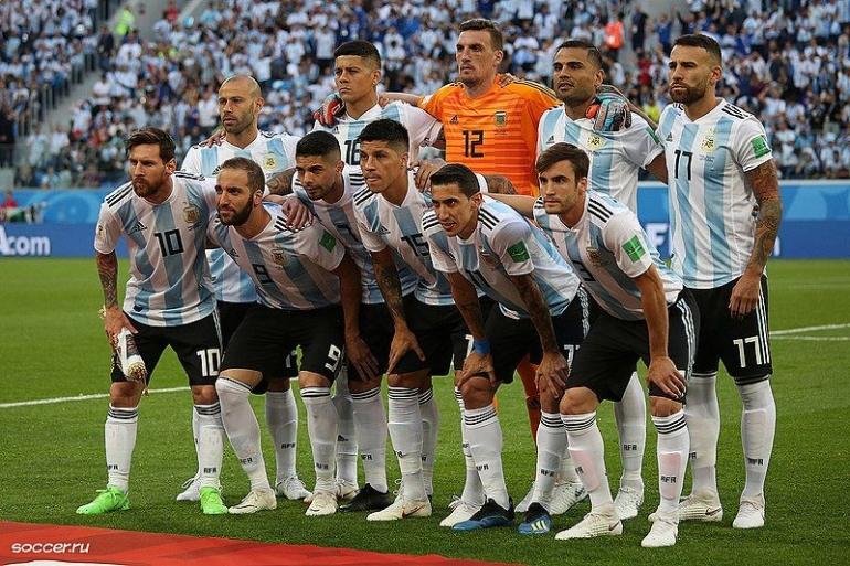 Timnas Argentina. (Sumber: Wikimedia Commons)